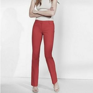 Express Columnist Red Dress Pant Pants Size: 12